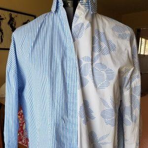 a.n.d.n.eaway cotton blouse